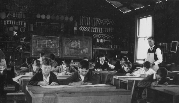 Class in Progress Mullumbimby Rural School