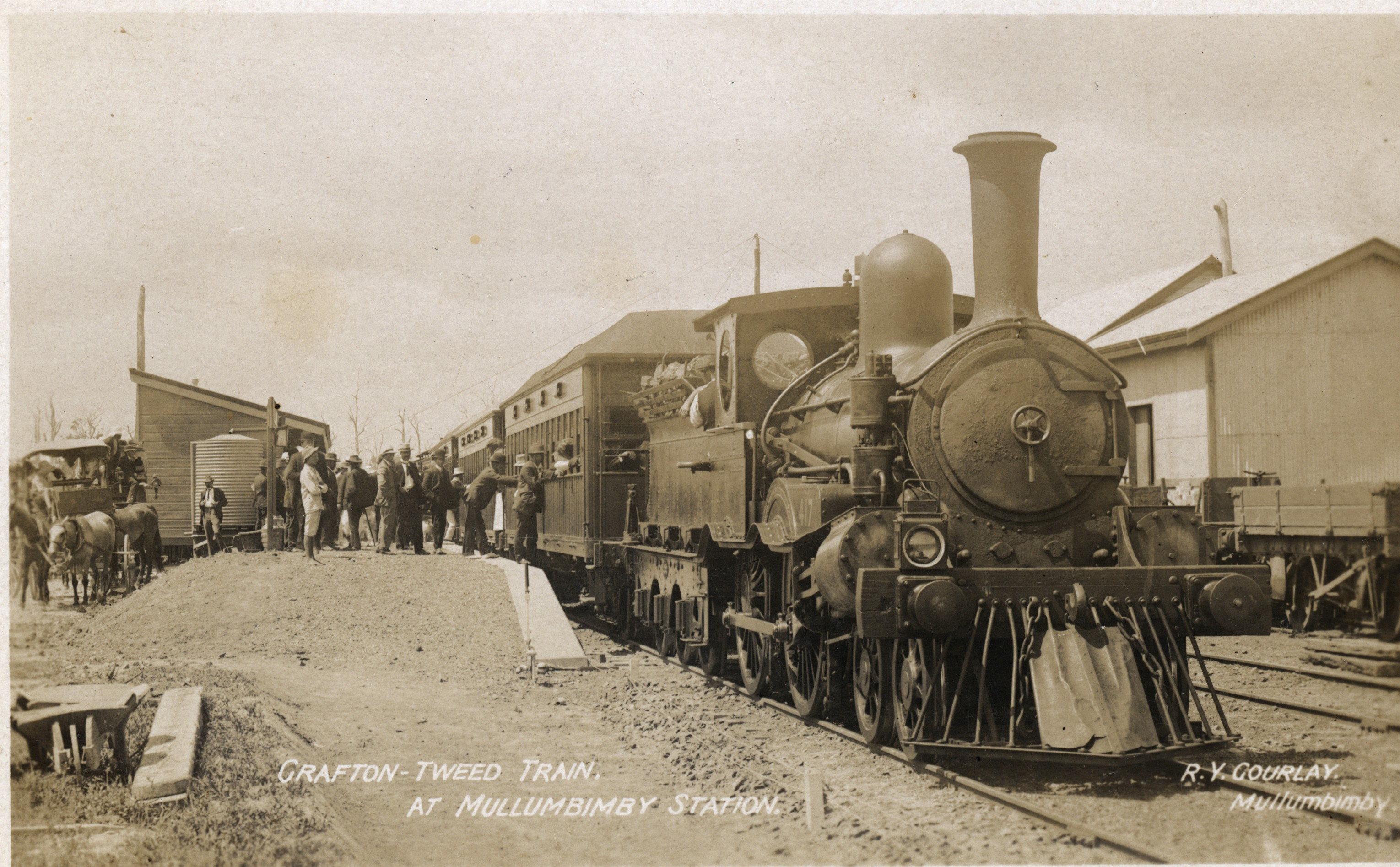 Mullumbimby Railway Station 1911